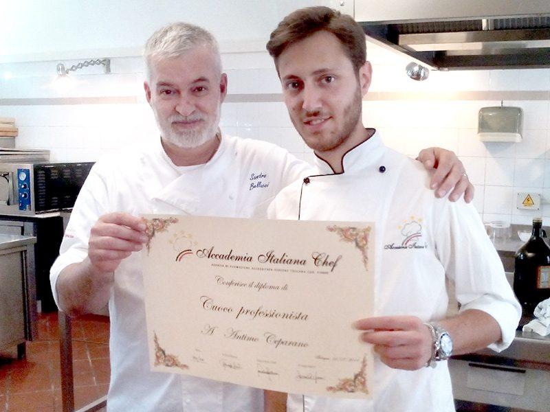 Scuola di cucina un nuovo talento dell 39 arte culinaria - Scuola cucina bologna ...