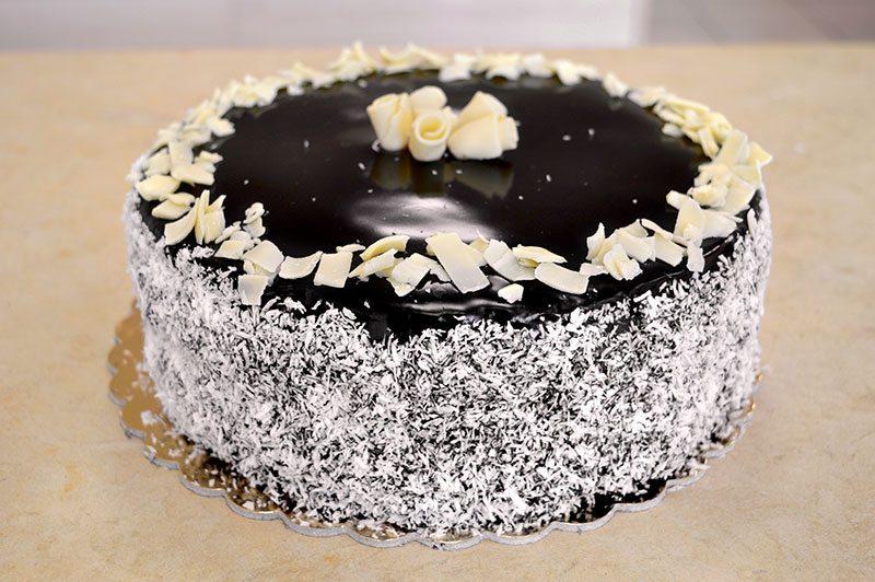 Corso per pasticcere torta ciocco cocco al profumo di rum