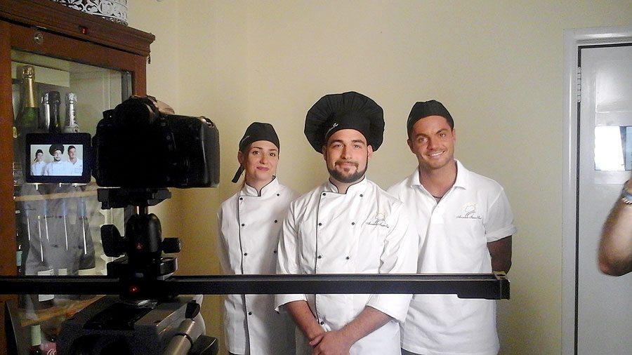 Scuola di cucina news spot tv il back stage - Accademia di cucina ...