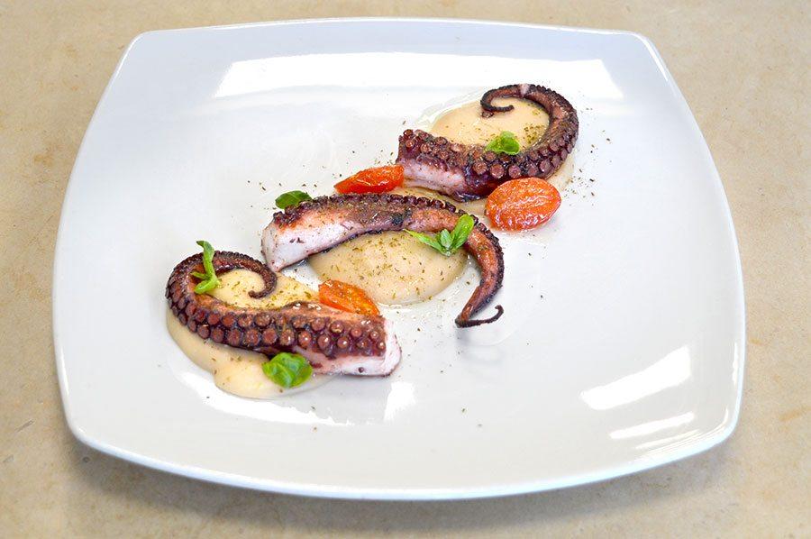 Corso cuoco ricetta polpo accademia italiana chef for Pasticceria fumagalli