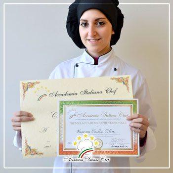 diploma accademia italiana chef