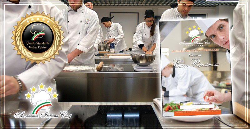 Il manuale professionale del corso cuoco