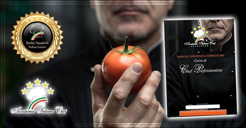 Il manuale professionale del corso chef