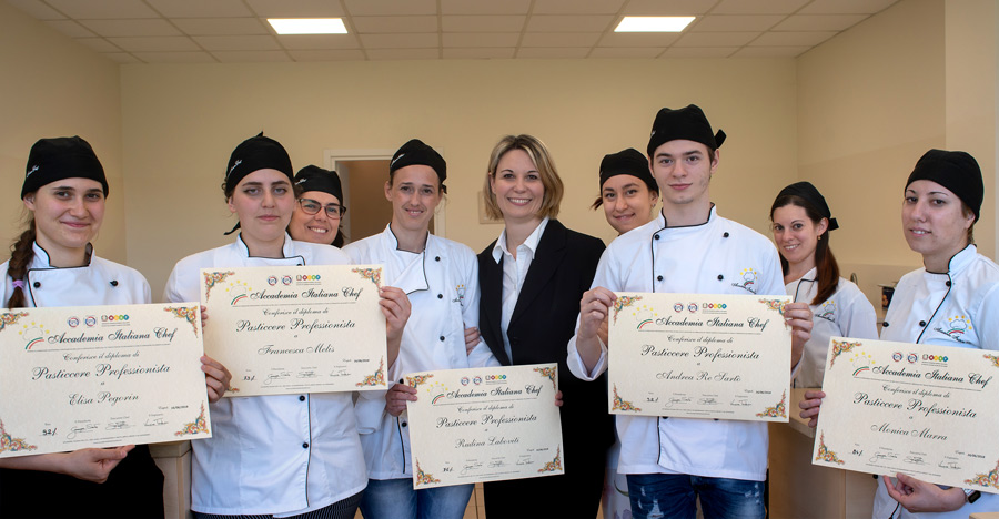 Diplomati scuola di cucina Accademia Italiana Chef