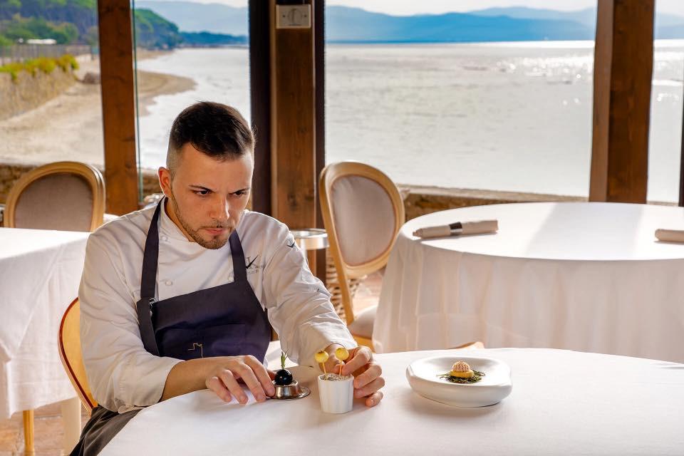 Scuola di cucina e successi - Kevin Luigi Fornoni, Chef del Relais In Toscana Torre Mozza