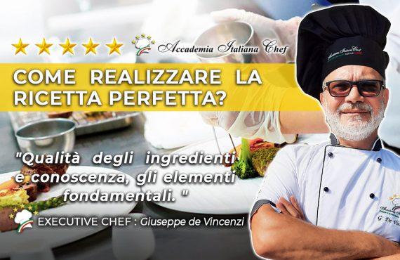 segreti in cucina con lo Chef Giuseppe De Vincenzi